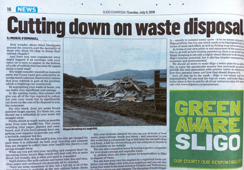 How Does Illegal Dumping Impact Sligo