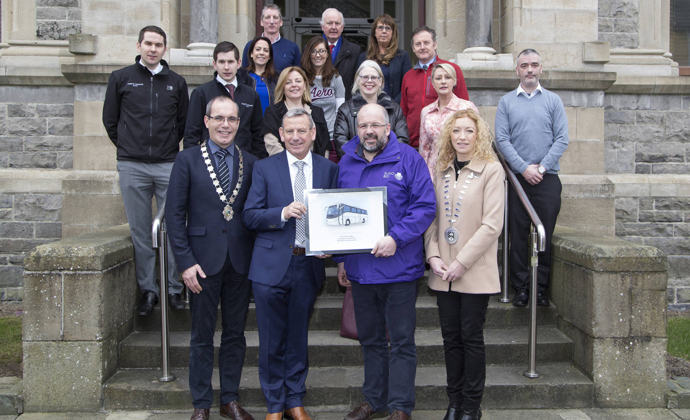 Sligo becomes first certified Coach Friendly Destination in Ireland