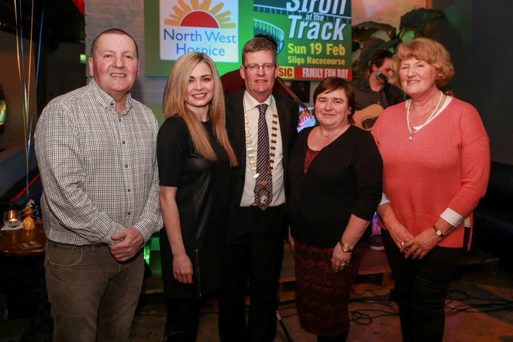 Cathaoirleach Attends NW Hospice Fundraiser