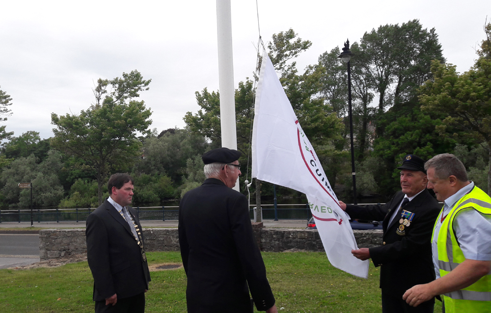 Council Supports Defence Forces 'Fuschia Flag' Initiative