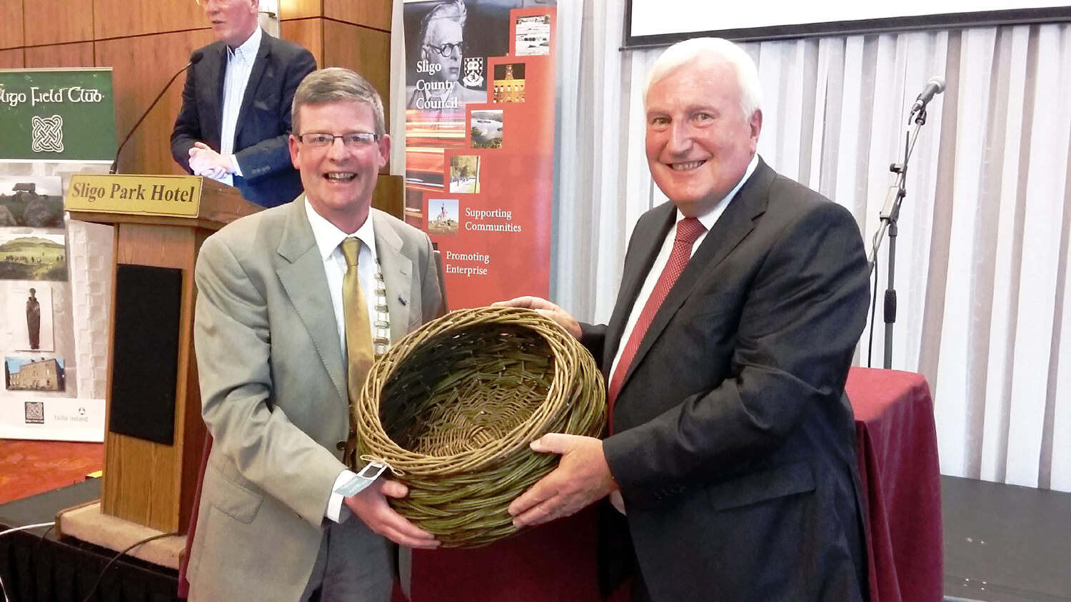 Heritage Council Board visits Sligo