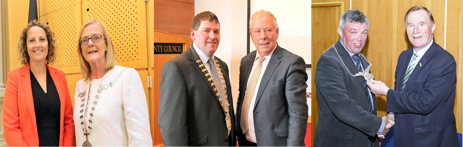 New Chairs elected by Sligo County Council and Municipal Districts