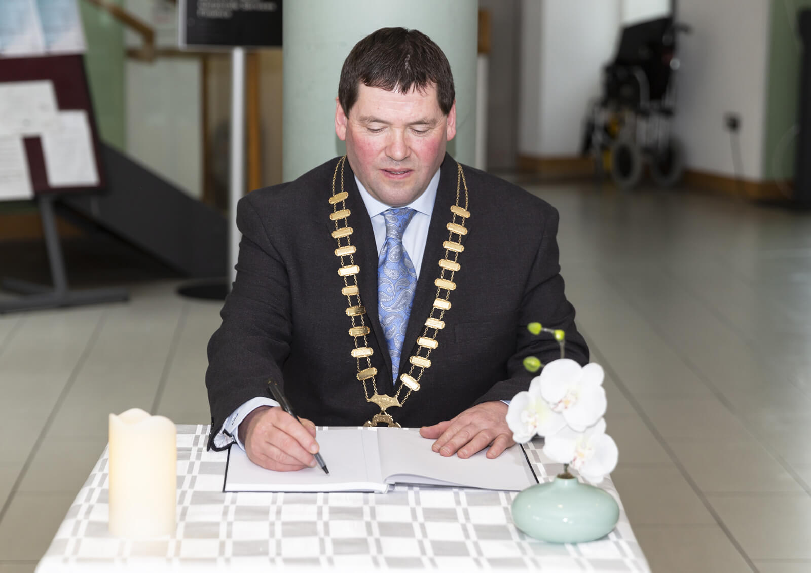 Book of Condolence opened in memory of New Zealand victims