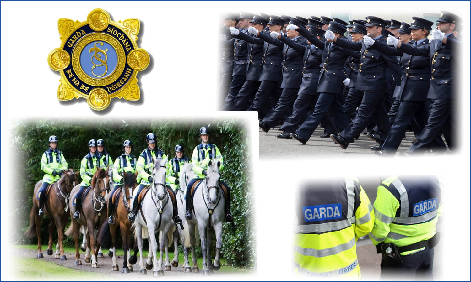 An Garda Síochána Parade and Awards Ceremony