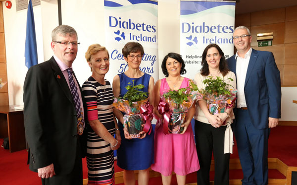 Cathaoirleach hosts reception for Diabetes Ireland 50th Anniversary