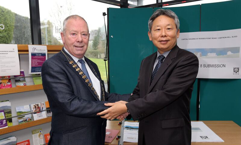 Korean Ambassador visits County Hall