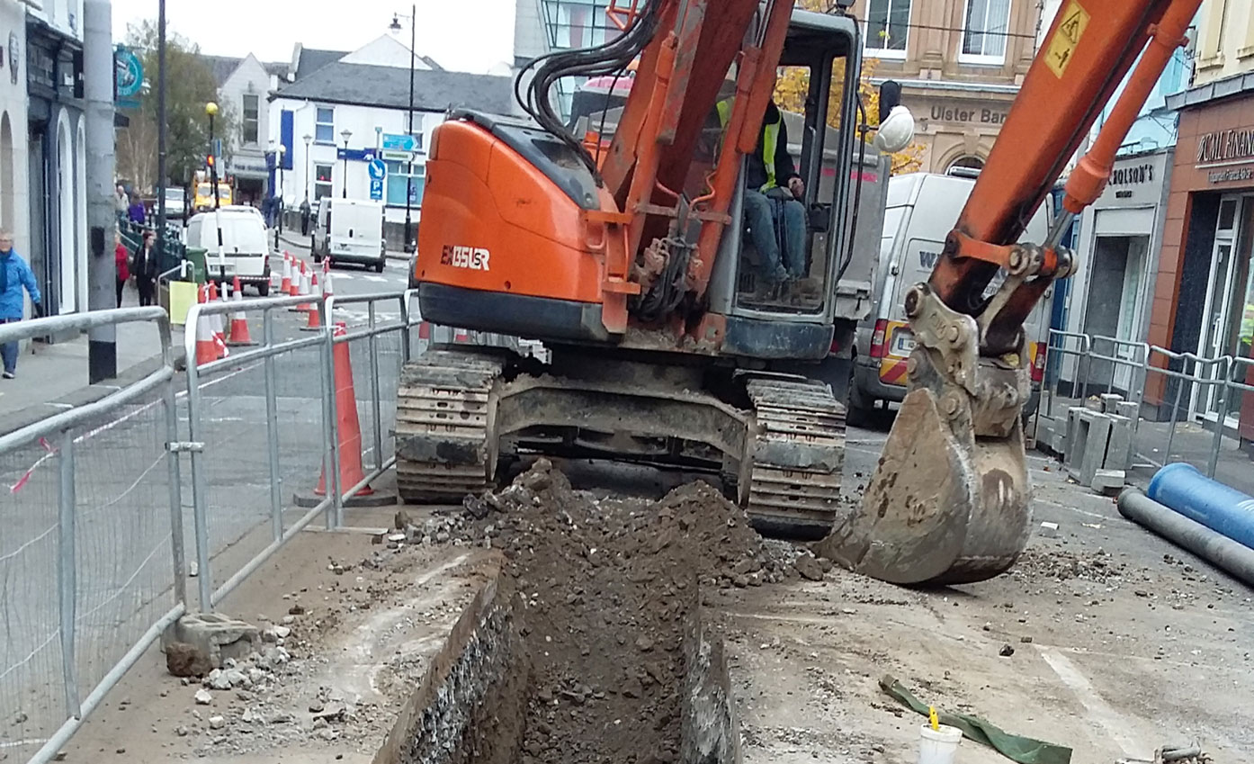 Sligo Water Mains and Sewer Rehabilitation Project