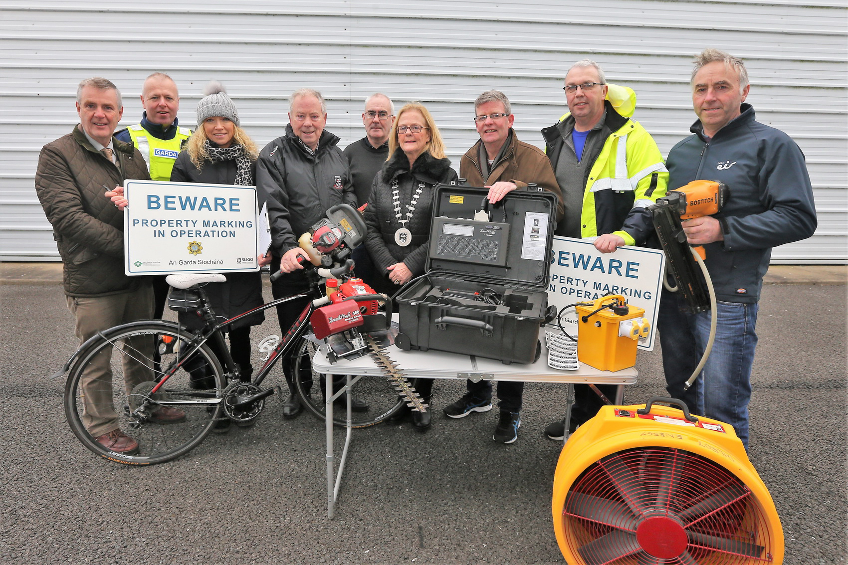 Property Marking Unit Launched in Grange Photo 1