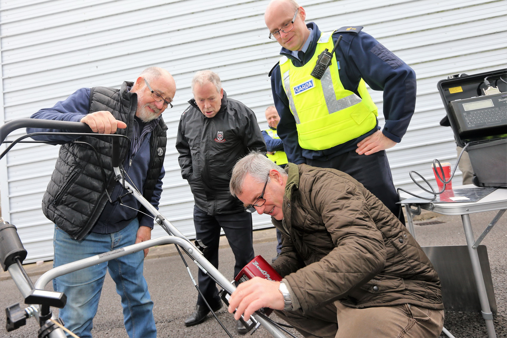 Property Marking Unit Launched in Grange Photo 2