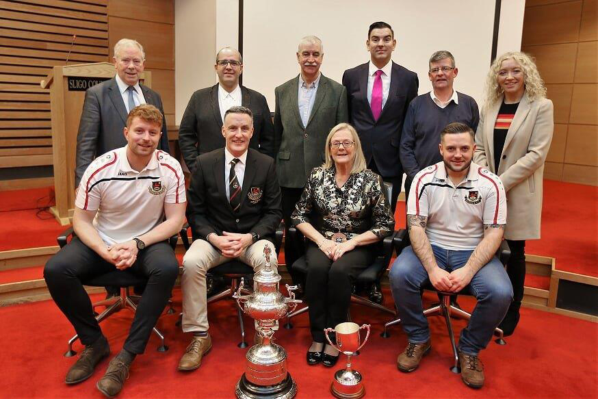 Mayor Honours Sligo Rugby Club  Photo 1