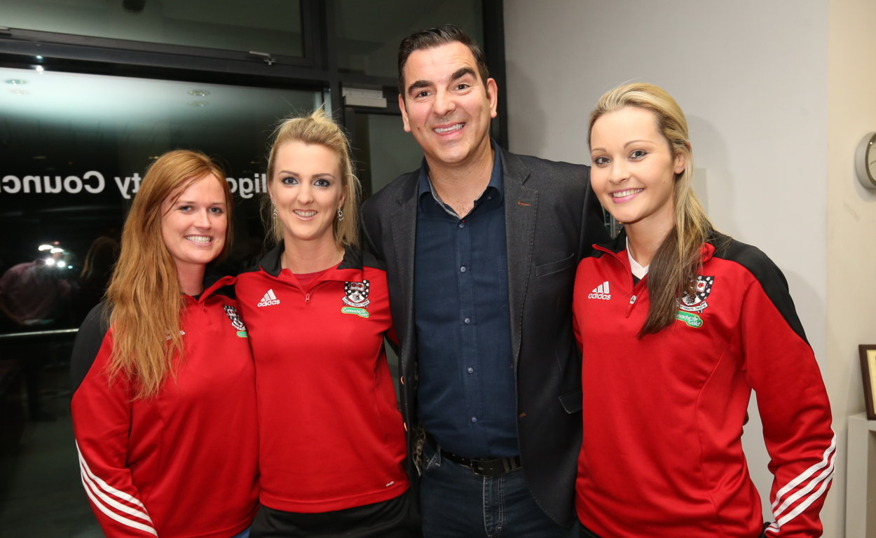 Sligo Ladies Team Honoured by Council Photo 6