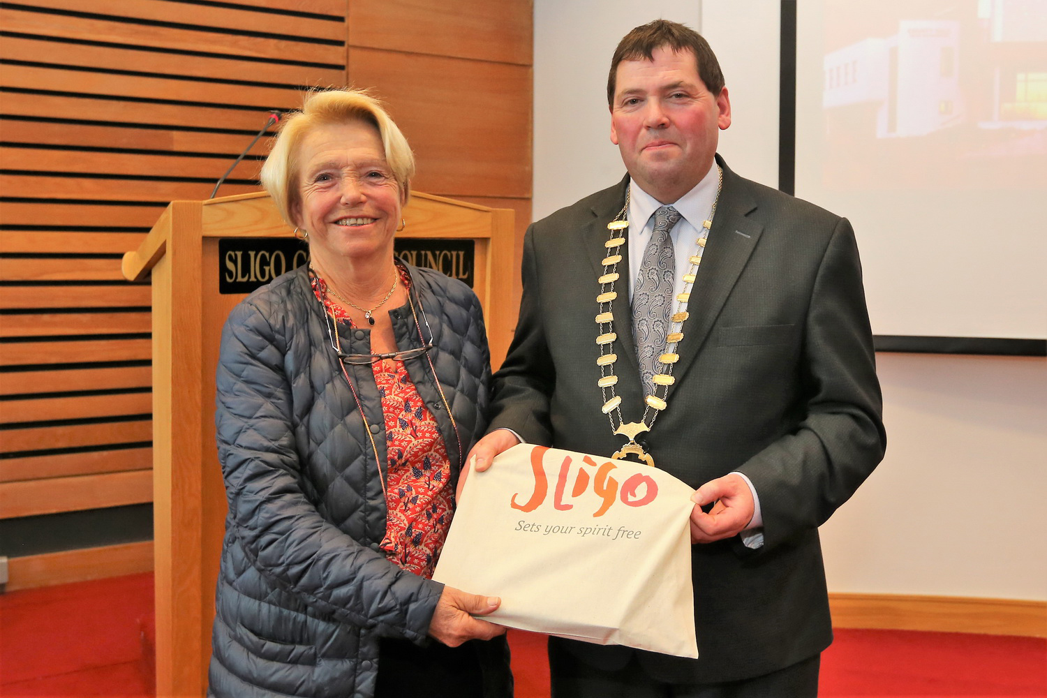Cathaoirleach Welcomes Guests from Kempten and Crozon  Photo 9