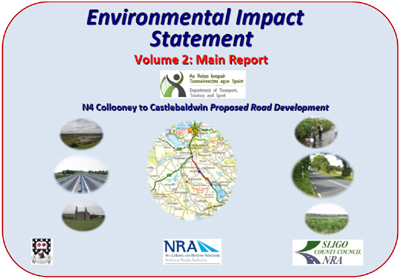 Environmental Impact Statement Volume 2 - EIS Main Report cover page