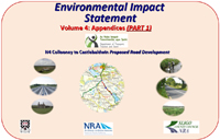 Environmental Impact Statement Volume 4 Appendices - part 1 cover page