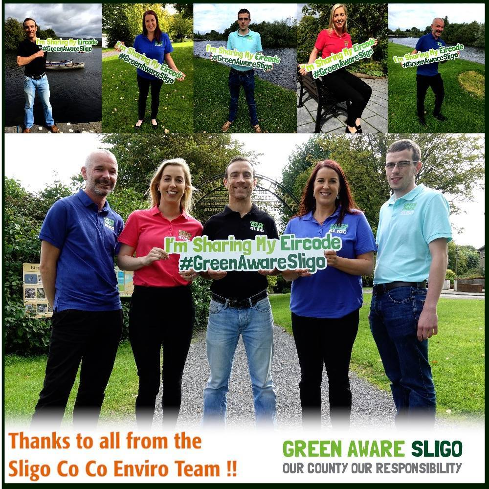 Let's stop illegal dumping, get involved with Green Aware Sligo